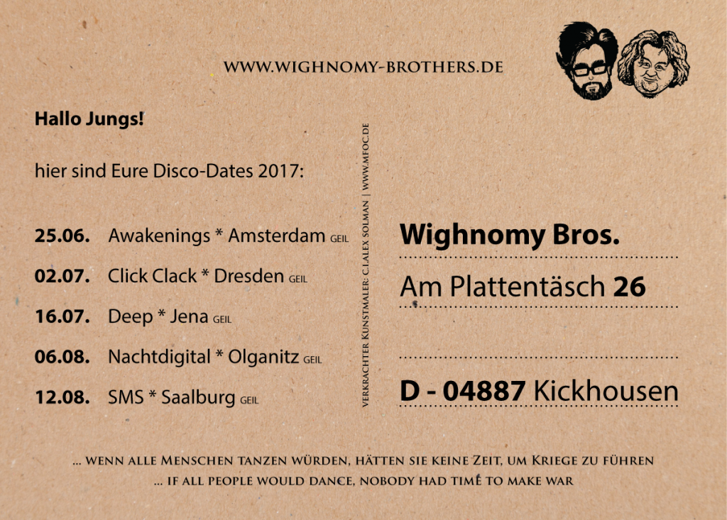 Wighnomy Brothers - Dates